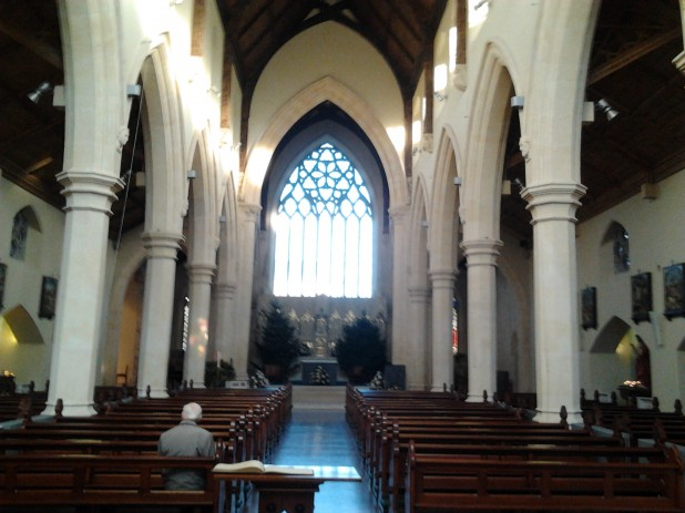 The Refurbished Interior of St. Catherine's Church on Meath Street in Dublin 8