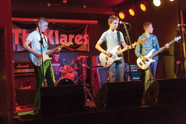 The Klares band @ The Workmans Club, Dublin, Ireland