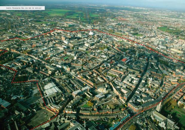 The Liberties Local Area Plan - Satelitte Image Of Dublin 8