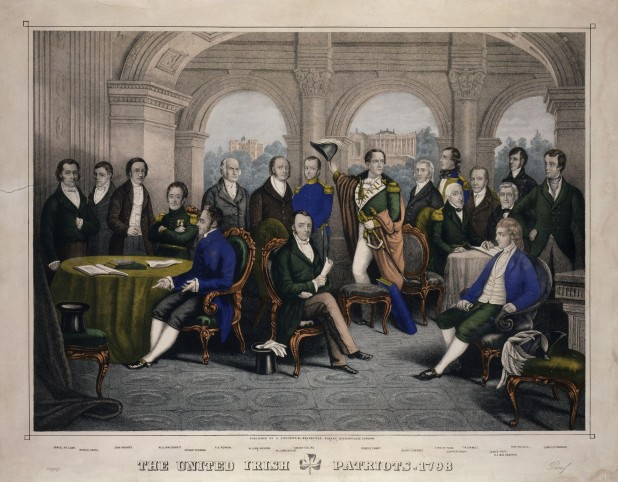 The Society of United Irishmen - patriots of 1798