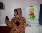 Tigger At Fountain Youth Project Halloween Party