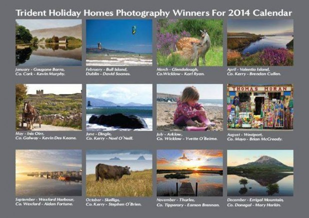 Trident Holiday Homes Calender 2014