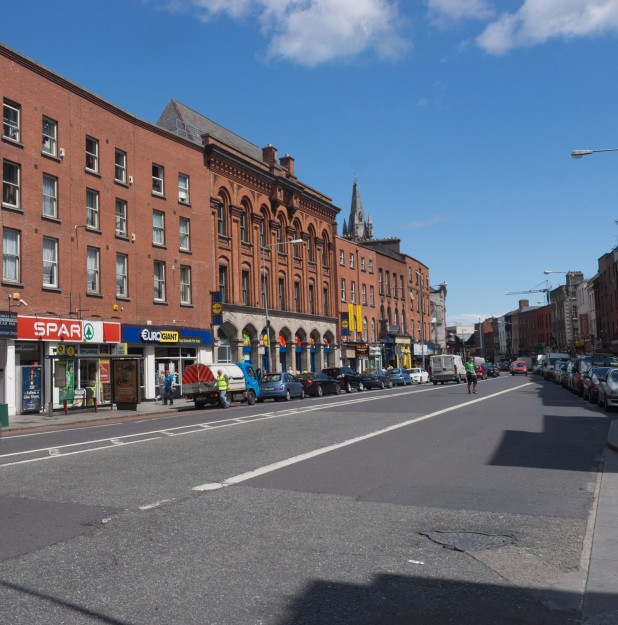 View of Thomas Street, Dublin, Shopping Area