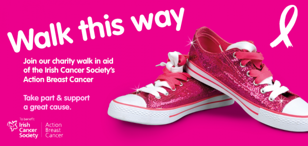 Centra Pink Walks 2013 - October is Breast Cancer Aawareness Month in Ireland