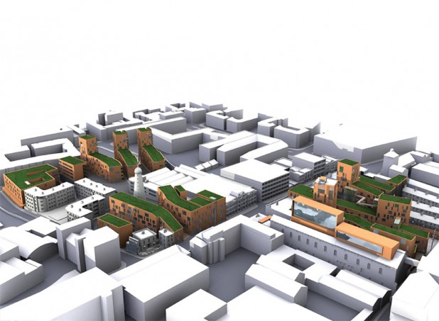 Proposed ReDevelopment at the Windmill Site, The Digital Hub