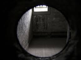 inside a cell in Kilmainham