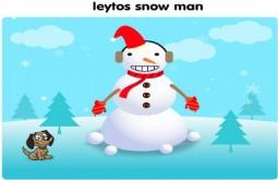 leytos snow man age 9