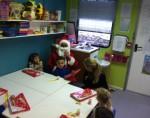 Santa at the Wee Tots Creche Dublin