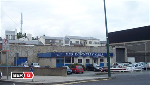 Large proposed development for former car showroom in Kilmainham