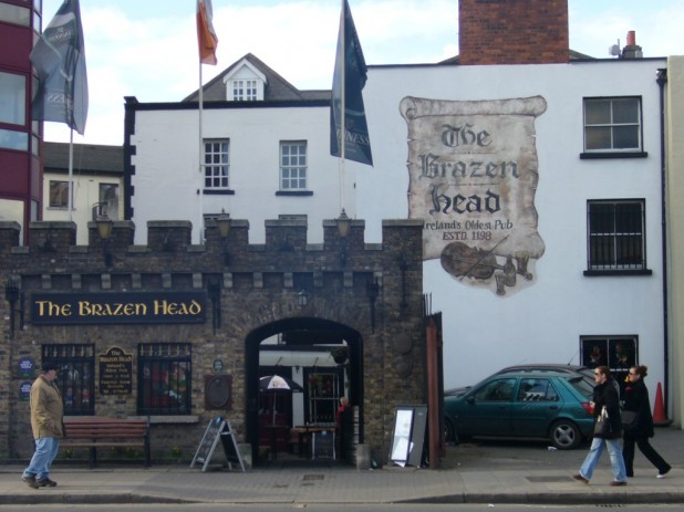The Brazen Head pub, Dublin - Ireland's oldest pub