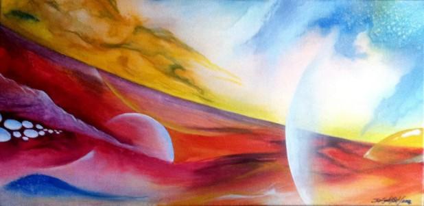 Transition 4 - 1st Path, by Daniel Lightfoot