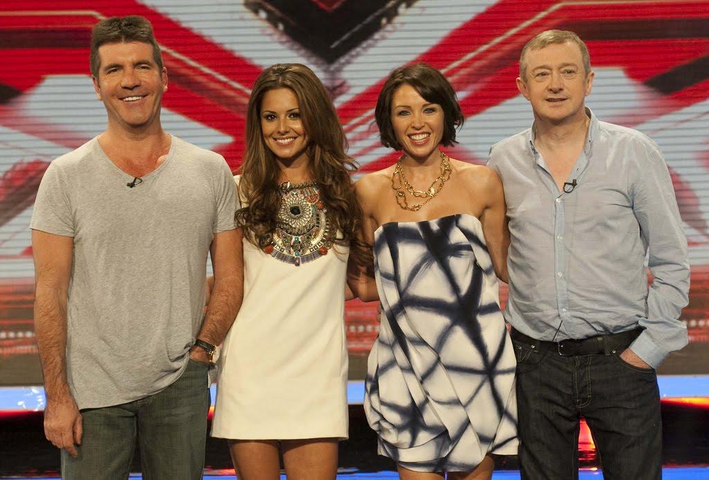 X Factor Judges 2010 X-Factor 2010 judges
